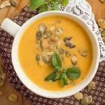 Zupa krem z dyni i papryki