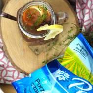 Aromatyczna herbatka z tymiankiem i czarną porzeczką