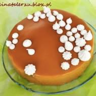 Musowy torcik czekoladowo - gruszkowy