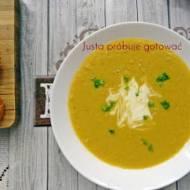 Słodka kukurydziana zupa krem