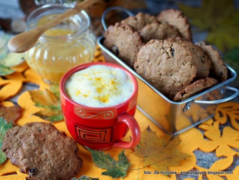 Jesienna kawa i straszne ciasteczka
