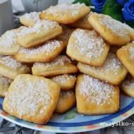 Ciastka serowe z grubym cukrem