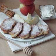 Racuszki jabłkowe z ricottą