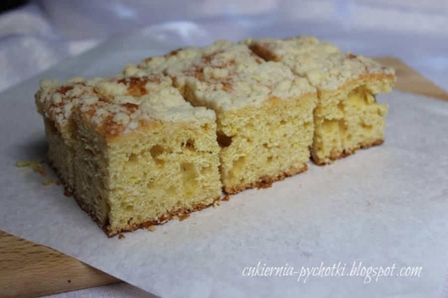 Najprostsze ciasto drożdżowe z kruszonką