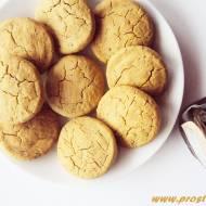 Ciastka  z syropem klonowym i mąką kasztanową ( bez glutenu, jajek i masła )