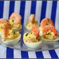 Fyllda ägghalvor – jajka faszerowane krewetkami