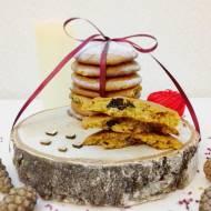 Ciasteczka dyniowe z kawałkami czekolady