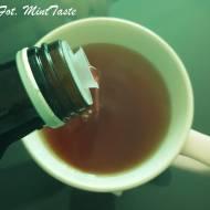 Rozgrzwająca herbata z sokiem