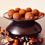 kakaowe trufle z fasoli // cocoa kindey bean truffles