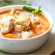Łatwe czerwone curry z kurczaka