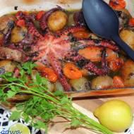 Ośmiornica z warzywami