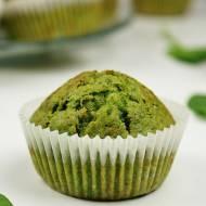 Muffinki szpinakowe (na słodko)