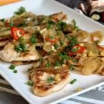Kurczak w ostrym sosie (szybki i pyszny)