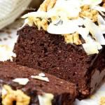 Wilgotne brownie z fasoli bez mąki FIT