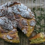 Drożdżowe ciasto dyniowe na ostro
