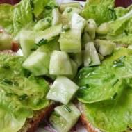 Śniadanie lub kolacja na zielono