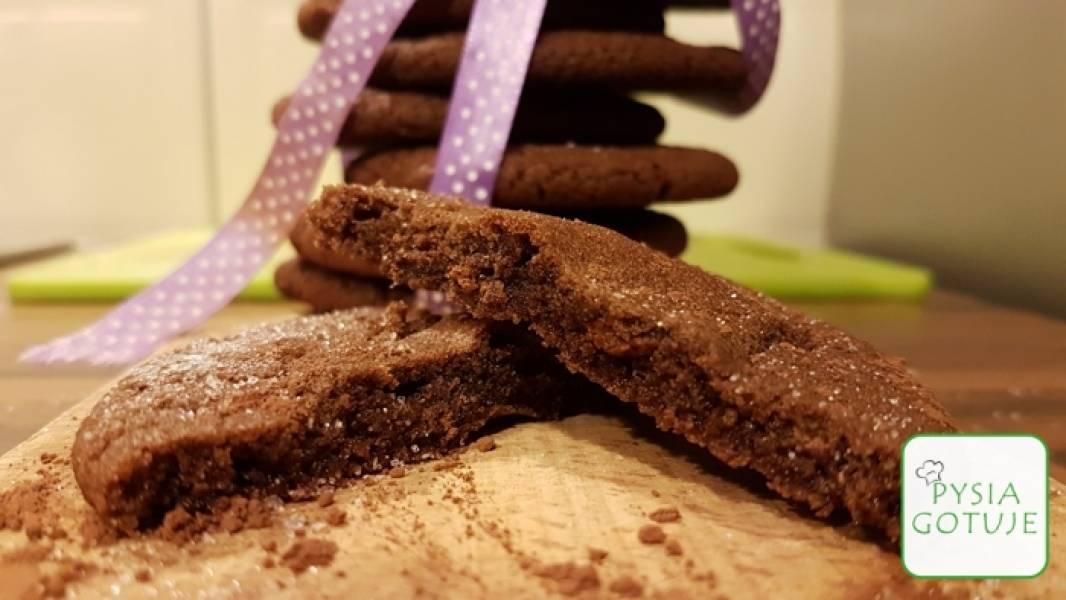 Ciasteczka czekoladowe a'la brownie