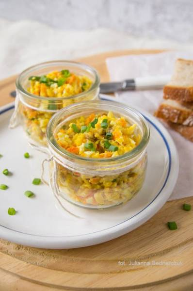 Kanapkowa pasta śledziowo-jajeczna