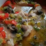 Sznycle w sosie z warzyw -pysznie smakują ,idealny obiad dla rodzinny