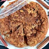 Ciasto migdałowo-cynamonowe na białkach