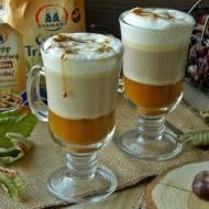 Dyniowa latte z syropem trzcinowym
