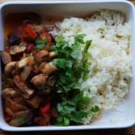 Lekkie curry z bakłażanów