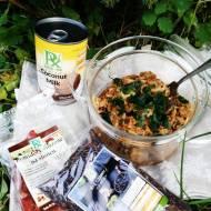 PULLED PORK w mleczku kokosowym i czarnym ryżem