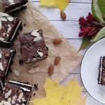 Brownies z mlecznym kremem