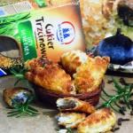 Francuskie pierożki nadziewane figami i rozmarynem