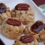 Orzechowe ciasteczka bez glutenu i bez cukru