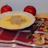Duńska zupa z jabłek