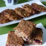 Owsiano-orzechowe ciastka z dynią, żurawiną i jabłkami (bez glutenu, bez oleju)