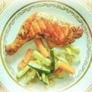 Pomysł na kurczaka w pomarańczach