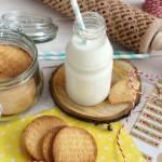 Kruche migdałowe ciasteczka