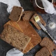 Chleb na zakwasie - żytni razowy z żurawiną