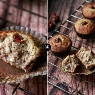Muffiny daktylowe z kokosem bez cukru – bez miksera