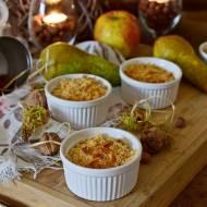 Śniadaniowe crumble z płatkami kukurydzianymi  i tymiankiem
