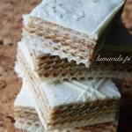 Pischinger, czyli wafle andruty na słodko