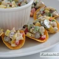Kolorowa sałatka nachipsy