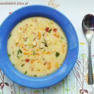 Zupa z soczewicą i batatami