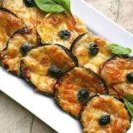 Bakłażan pieczony z Pecorino Romano i Mozzarellą