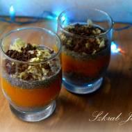 Kokosowy pudding z chia i kaki - bez cukru, mleka, fit