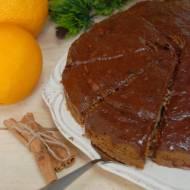 Ciasto dyniowe z nutką pomarańczy