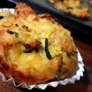 Muffiny wytrawne – na pieczywie, z cukinią i serem