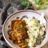 Curry z kurczakiem i cukinia