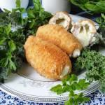 Roladki drobiowe z serem i koperkiem