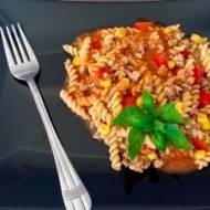 Boloński garnek z kukurydzą i papryką