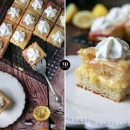 Ciasto cytrynowe z lemon curd i bitąśmietaną – bez miksera