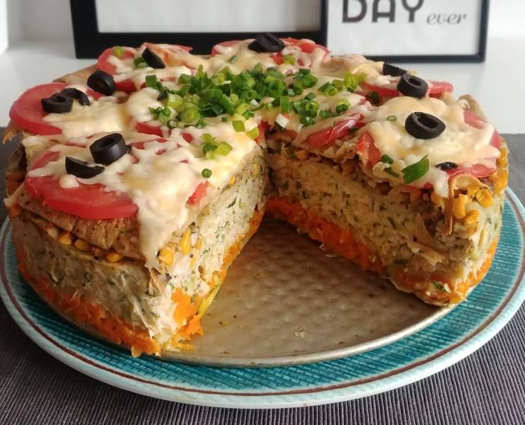 Przepis Na Dietetyczny Obiad Tort Na Slono Mama Z Miasta