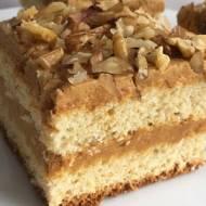 Ciasto z kremem krówkowym